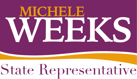 Michele Weeks' campaign logo